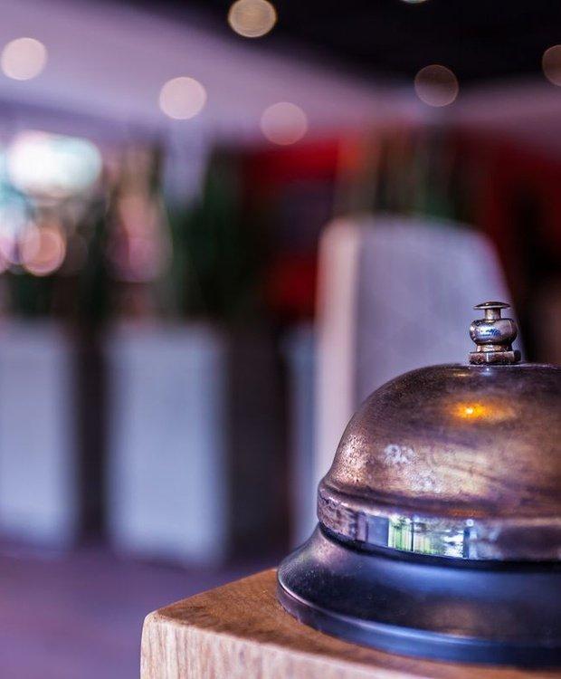 Reception Mika Hotel